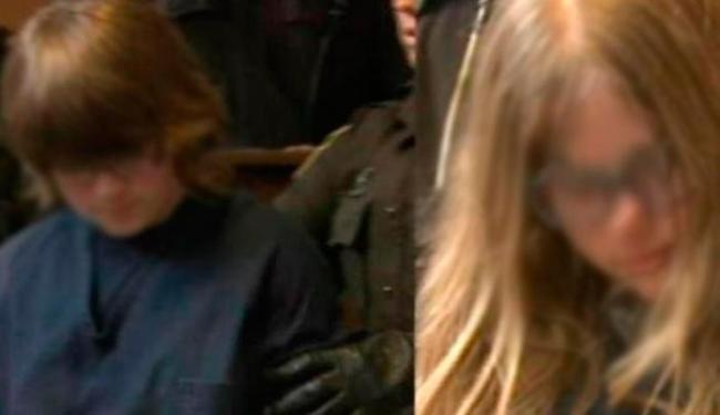 Meninas chamaram vítima para brincar de esconde-esconde - Foto: Reprodução   CNN