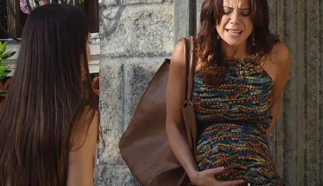Juliana entra em trabalho de parto - Foto: Reprodução | TV Globo