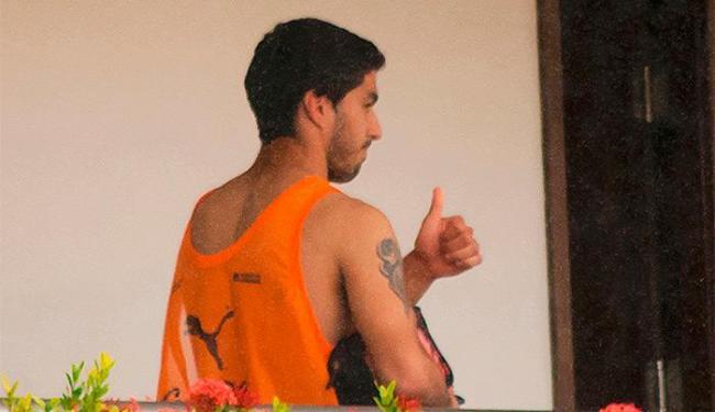 Fora do Mundial por causa da suspensão, Suárez deve deixar a concentração da Celeste - Foto: Leo Carioca l Reuetrs