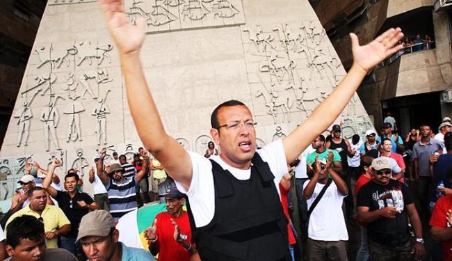 Marcos Prisco liderou greve da PM em 2012 e 2014 - Foto: Lúcio Távora / Ag. A Tarde