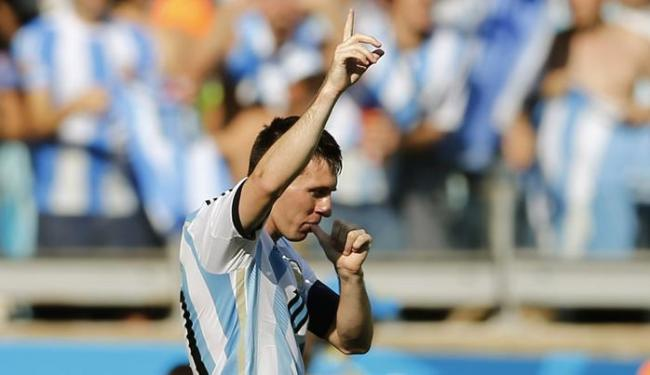 Em mais um jogo complicado, novamente, Messi decide para a Argentina - Foto: Sergio Perez  Ag. Reuters