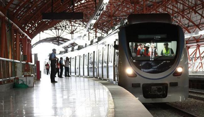 Alguns trens e estações precisaram de intervenções devido ao tempo  de ociosidade - Foto: Divulgação   CCR Metrô Bahia