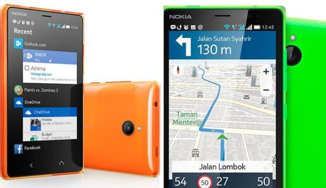 O Android do X2 se assemelha ao WIndows Phone - Foto: Divulgação