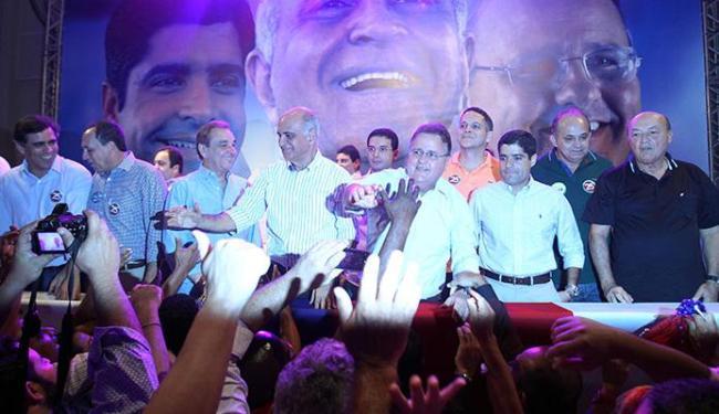 Paulo Souto foi homologado candidato ao governo da Bahia e Geddel, candidato ao Senado - Foto: Lúcio Távora | Ag. A TARDE