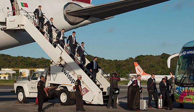 Seleção não passou pelo saguão do aeroporto - Foto: Alessandra Lori | Ascom Secopa