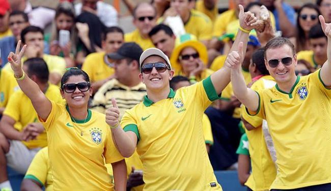 Apesar de alguns irem embora e torcerem contra a seleção, o Brasil vai contar com outros torcedores - Foto: Wander Roberto   VIPCOMM
