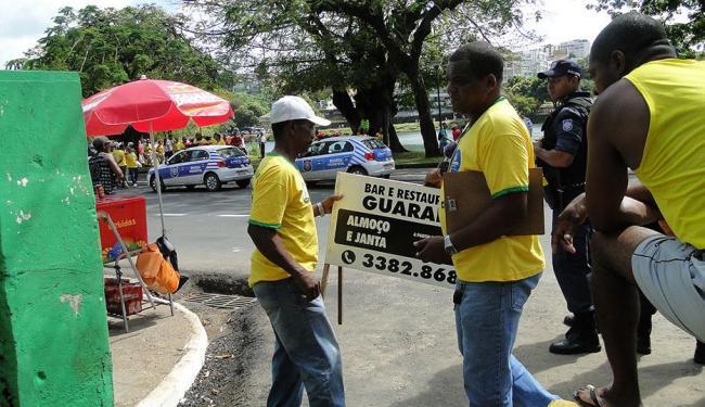 Fiscais realizaram vistorias no entorno da Arena Fonte Nova e na Barra - Foto: Divulgação | Sucom