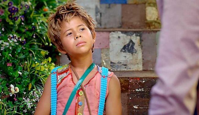 O menino conquistou o papel também por ser artista do circo Zanni - Foto: TV Globo | Divulgação