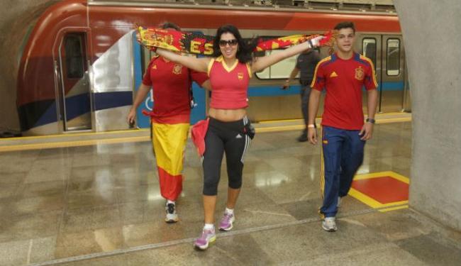 Metrô fica disponível cinco horas antes e duas horas após os jogos na Arena Fonte Nova - Foto: Alberto Coutinho/GovBa