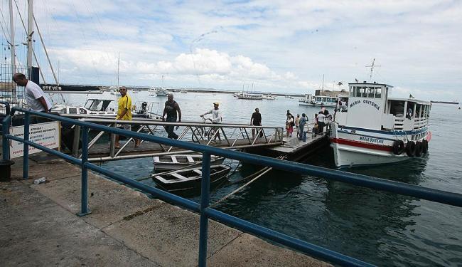 No sentido Salvador-Mar Grande travessia funciona normalmente - Foto: Mila Cordeiro | Ag. A TARDE