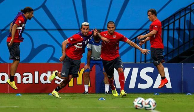 Suíça tem que vencer para se classificar para as oitavas - Foto: Andres Stapff | Agência Reuters