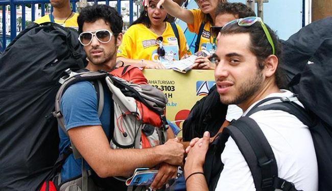 Os chilenos são os que têm a melhor imagem do Brasil - Foto: Claudionor Júnior   Ag. A TARDE 02.03.2011