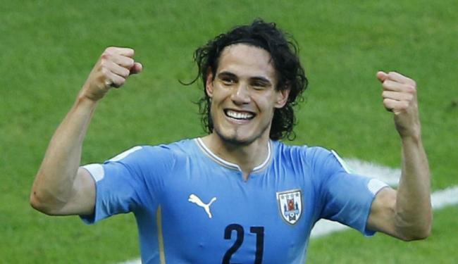 Edinson Cavani anima seleção uruguaia para o próximo jogo com Inglaterra - Foto: Mike Blake   Ag. Reuters