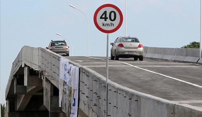 Motoristas que trafegam pela avenida Paralela podem acessar Narandiba pelo viaduto - Foto: Manu Dias   GovBA