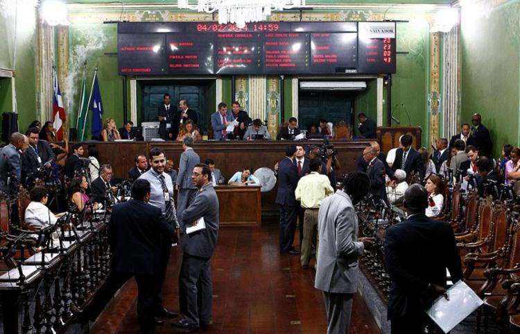 Câmara de Vereadores de Salvador - Foto: Eduardo Martins | Ag. A TARDE