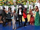 Santana, Brown, Ivete e Sharika no encerramento da Copa - Foto: