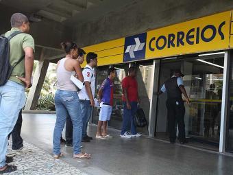 Todas as agências, inclusive a que funciona no edifício sede, estão funcionando normalmente - Foto: Edilson Lima   Ag. A TARDE