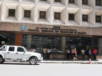 O explosivo foi de pequeno porte e não causou maiores prejuízos, informou assessoria do TRT - Foto: Joá Souza | Ag. A TARDE