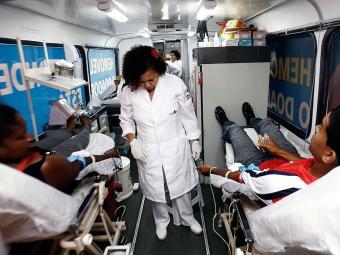 Os voluntários devem ficar atentos às recomendações para doar sangue - Foto: Luciano da Matta   Ag. A TARDE