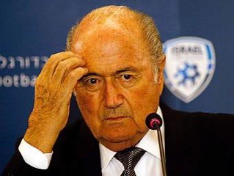Presidente da Fifa, Joseph Blatter não falou sobre a prisão - Foto: Ronen Zvulun l Reuters