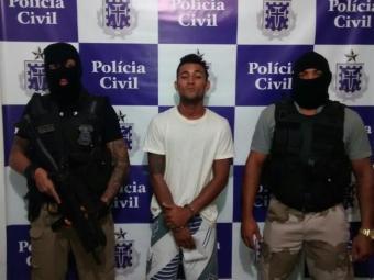Assaltante já haviacumprido pena de dois anos e um mês, em regime fechado - Foto: Ascom | Polícia Civil