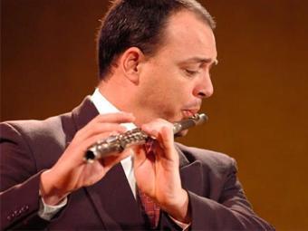 Lucas Robatto, orientador da Classe de Flauta da Ufba - Foto:   Ag. A TARDE