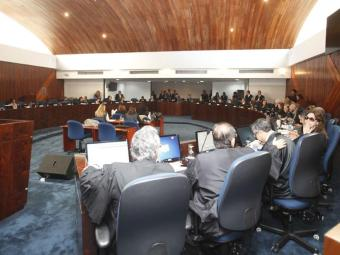 Pleno do Tribunal de Justiça: nova votação acontecerá na próxima sessão, marcada para agosto - Foto: Edilson Lima | Ag. A TARDE