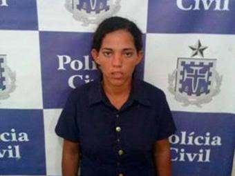 A traficante Amanda Pedro da Silva, 29, foi conduzida para o Presídio de Juazeiro - Foto: Divulgação   ASCOM Polícia Civil