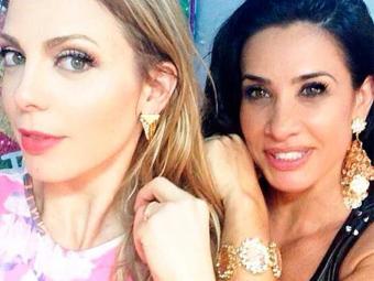 Scheila Carvalho começou o dia desejando parabéns a amiga e companheira de trabalho - Foto: Instagram | Reprodução