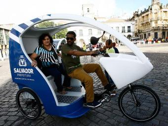 Iniciativa voltada à mobilidade integra o projeto Movimento Salvador Vai de Bike - Foto: Margarida Neide   Ag. A TARDE   9.7.2014