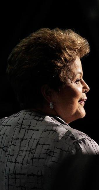 A presidente e candidata tem sido esquecida pelos candidatos a governador do PMDB - Foto: Eraldo Peres | AP Photo