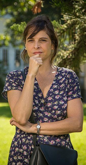 Drica Moraes interpreta a perversa Cora na novela das 21h, Império - Foto: Paulo Belote   TV Globo   Divulgação