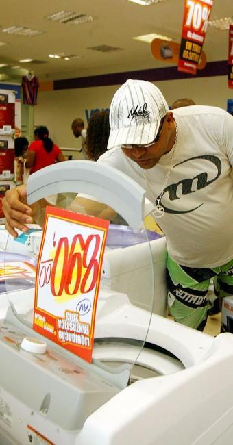 Produtos da chamada linha branca têm sempre um forte apelo nas vendas do varejo - Foto: Marco Aurélio Martins | Ag. A TARDE