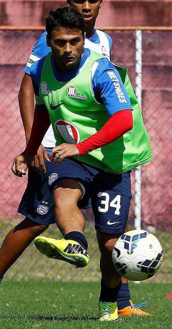 Maxi, agredido na segunda, promete volta por cima - Foto: Eduardo Martins | Ag. A TARDE