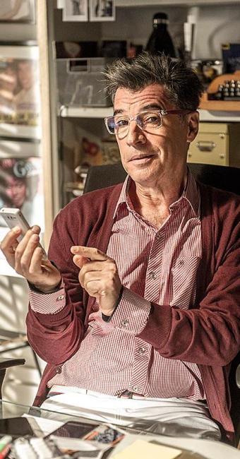 Paulo Betti interpreta um blogueiro gay em Império - Foto: Renato Rocha Miranda   TV Globo   Divulgação