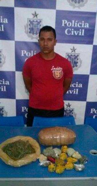 As drogas apreendidas já estavam prontas para o consumo - Foto: Divulgação | ASCOM Polícia Civil