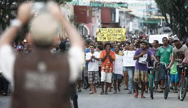 Morte de bebê revoltou a população de Amargosa, que pede justiça - Foto: Luiz Tito | Ag. A TARDE