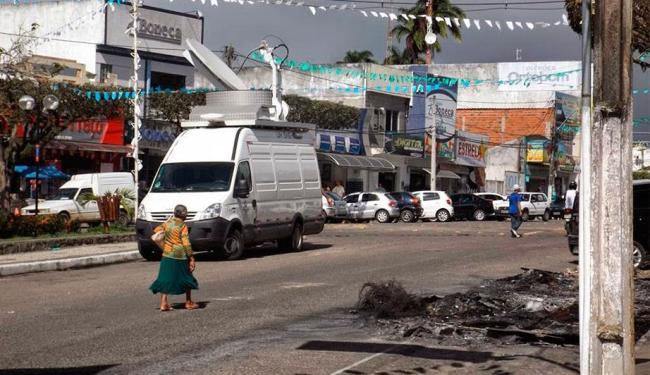Após morte e protestos, comércio reabre em Amargosa - Foto: Reprodução | Amargosa News