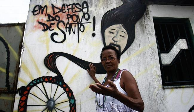 Segundo Antônia Barbosa vizinho já a maeaçou de morte e espancamentos - Foto: Luiz Tito | Ag. A TARDE