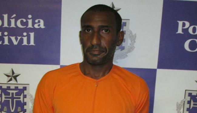 Crimonoso foi capturado em Itabuna e encaminhado para Salvador - Foto: Divulgação | Ascom - PC BA