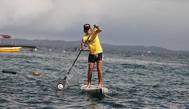 Babi se prepara para competições internacionais no Yacht Clube - Foto: Edilson Lima | Ag. A TARDE