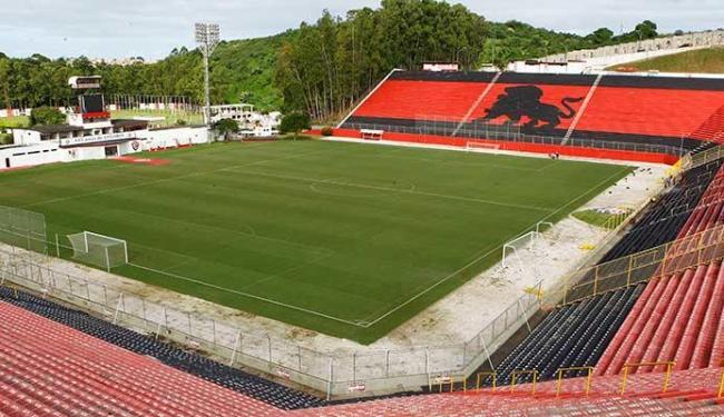 Vitória ficou 182 dias sem jogar em casa e campo foi reduzido para treinos de seleções na Copa - Foto: Eduardo Martins | Ag. A TARDE