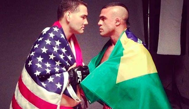 Weidman e Belfort se enfrentam no dia 6 de dezembro em Las Vegas - Foto: Reprodução | Instagram