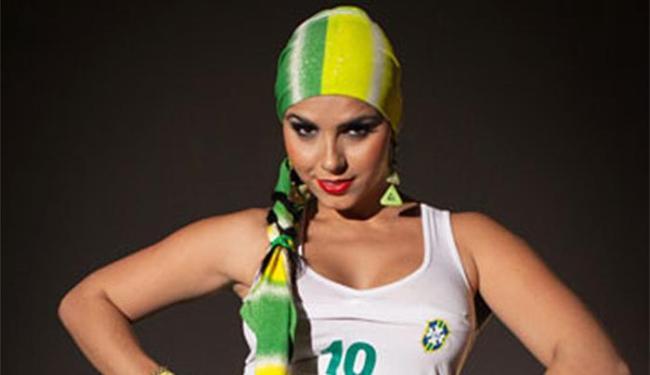 Bianca Leão faz a despedida da Copa para alegrar o povo brasileiro - Foto: Eduardo Só l MF Models Assessoria