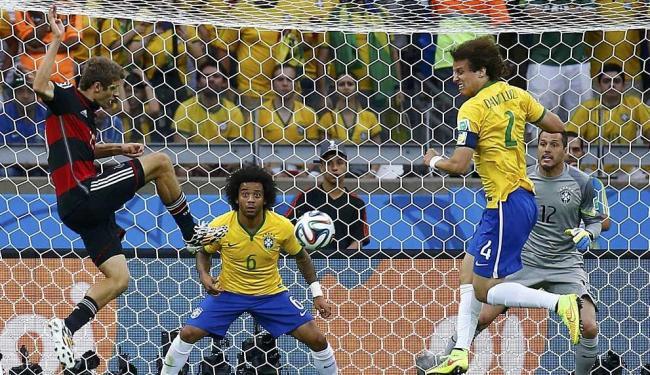Camisa 13 da Alemanha chegou a seu quinto gol na Copa do Mundo - Foto: Kai Pfaffenbach | Reuters