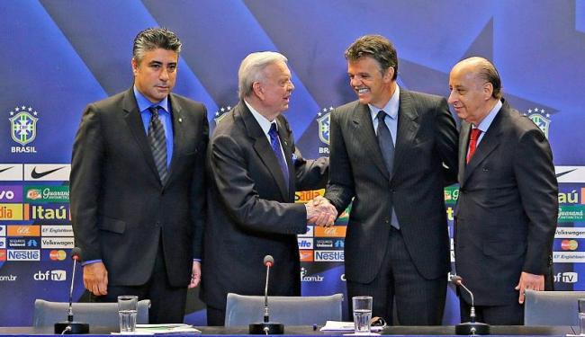 Gallo participou de anúncio do novo coordenador das seleções da CBF - Foto: Divulgação | CBF