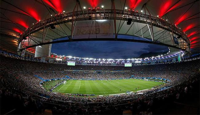 Torcida lotou o Maracanã para conferir a final entre Alemanha e Argentina - Foto: Reuters
