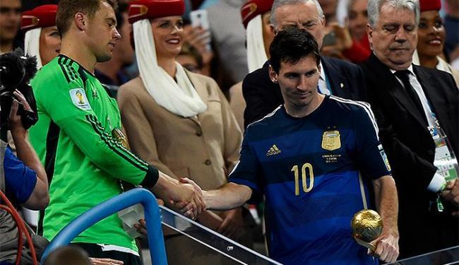 Messi terminou a competição com quatro gols marcados - Foto: Dylan Martinez | Reuters