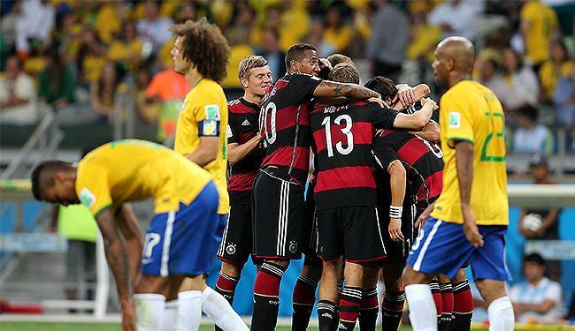 Brasil sofre maior derrota da sua história e vê Alemanha chegar à final - Foto: Jefferson Bernardes l VIPCOMM