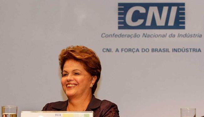 Dilma garantiu em evento na CNI que investimentos serão mantidos - Foto: Ichiro Guerra   Divulgação